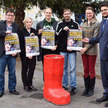 Stadtfelder Weihnachtsspektakel: Einnahmen werden für gemeinnützige Zwecke gespendet