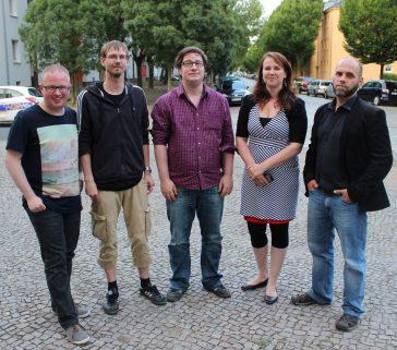 Der neue Sprecher*innenkreis der GWA Stadtfeld-Ost