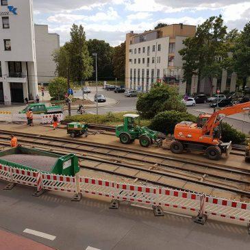 Sperrungen in der Olvenstedter Straße verlängert