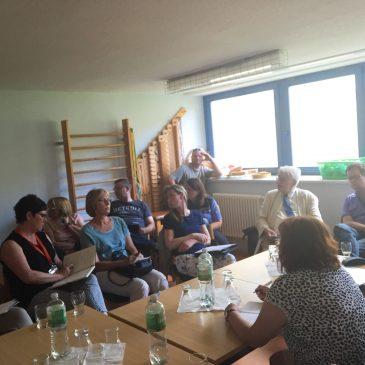Sitzung der GWA Stadtfeld-West und Diesdorf in der Kita Spatzennest