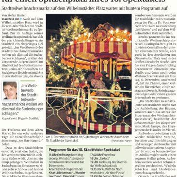 """Stadtfelder """"stibitzen"""" Sudenburger Tanne für einen Spitzenplatz ihres 10. Spektakels"""