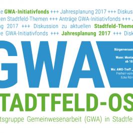 GWA-Bürgerversammlung 01/2017 am Montag, den 13.02.2017