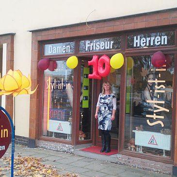 Geschäft in der Albert-Vater-Straße feiert Jubiläum - 10 Jahre Styl-ist-in Friseurgeschäft