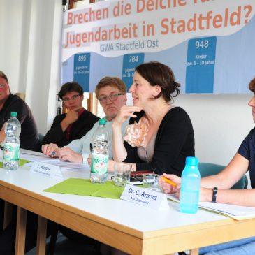 Treffen der GWA-Stadtfeld-Ost – Thema: Kürzungen bei der Kinder- und Jugendarbeit