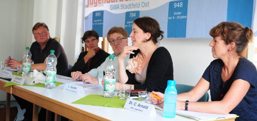 Treffen der GWA-Stadtfeld-Ost - Thema: Kürzungen bei der Kinder und Jugendarbeit