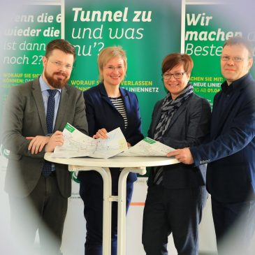 Neues Liniennetz der MVB ab 1. April
