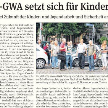 Stadtfeld-GWA setzt sich für Kinderwohl ein