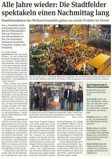 Volksstimme vom 12.12.2012
