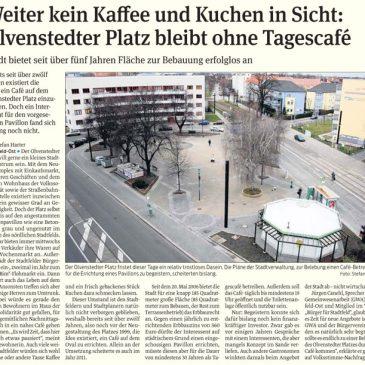 Olvenstedter Platz bleibt ohne Tagescafé