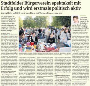 Volksstimme vom 19.01.2012