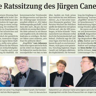 Wir gratulieren Jürgen Canehl ganz herzlich zum 60. Geburtstag!