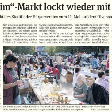 """""""Klim-Bim""""-Markt lockt wieder mit Musik"""