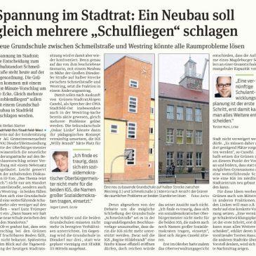 Neue Grundschule in Stadtfeld?