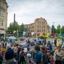 """19. Stadtfelder Floh- und Trödelmarkt """"Klim-Bim"""" am 26. August 2017 auf dem Wilhelmstädter Platz"""