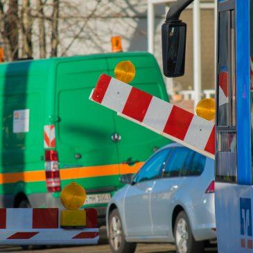 Gleisbauarbeiten ab 1. März in der Großen Diesdorfer Straße
