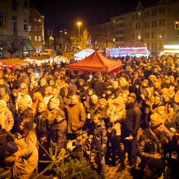 14. Stadtfelder Weihnachtsspektakel am 15.12.2017 auf dem Wilhelmstädter Platz