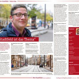 """""""Mein Stadtfeld"""" – Neues Stadtteilmagazin für Stadtfeld erschienen / Interview mit dem BfS"""