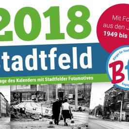 Stadtfeld-Kalender 2018 erschienen