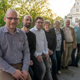 Matthias Küster, Maik Lampe, Thomas Opp, Jürgen Canehl, Sabine Neumeister, Uwe Thal und Matthias Callehn (v.l.n.r.).
