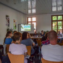 Versammlung der AG Gemeinwesenarbeit (GWA) Stadtfeld-Ost am 8. Mai 2018
