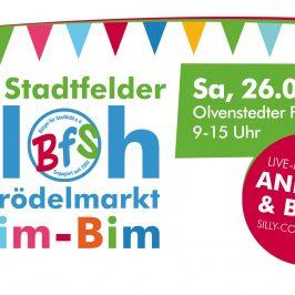 """""""Klim-Bim"""" feiert Jubiläum – 20. Floh- und Trödelmarkt auf dem Olvenstedter Platz"""