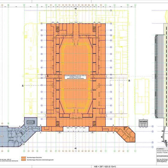 Vorhabenplan Hermann-Gieseler-Halle