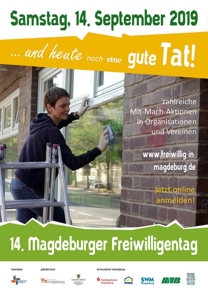 14. Magdeburger Freiwilligentag am 14.09.2019