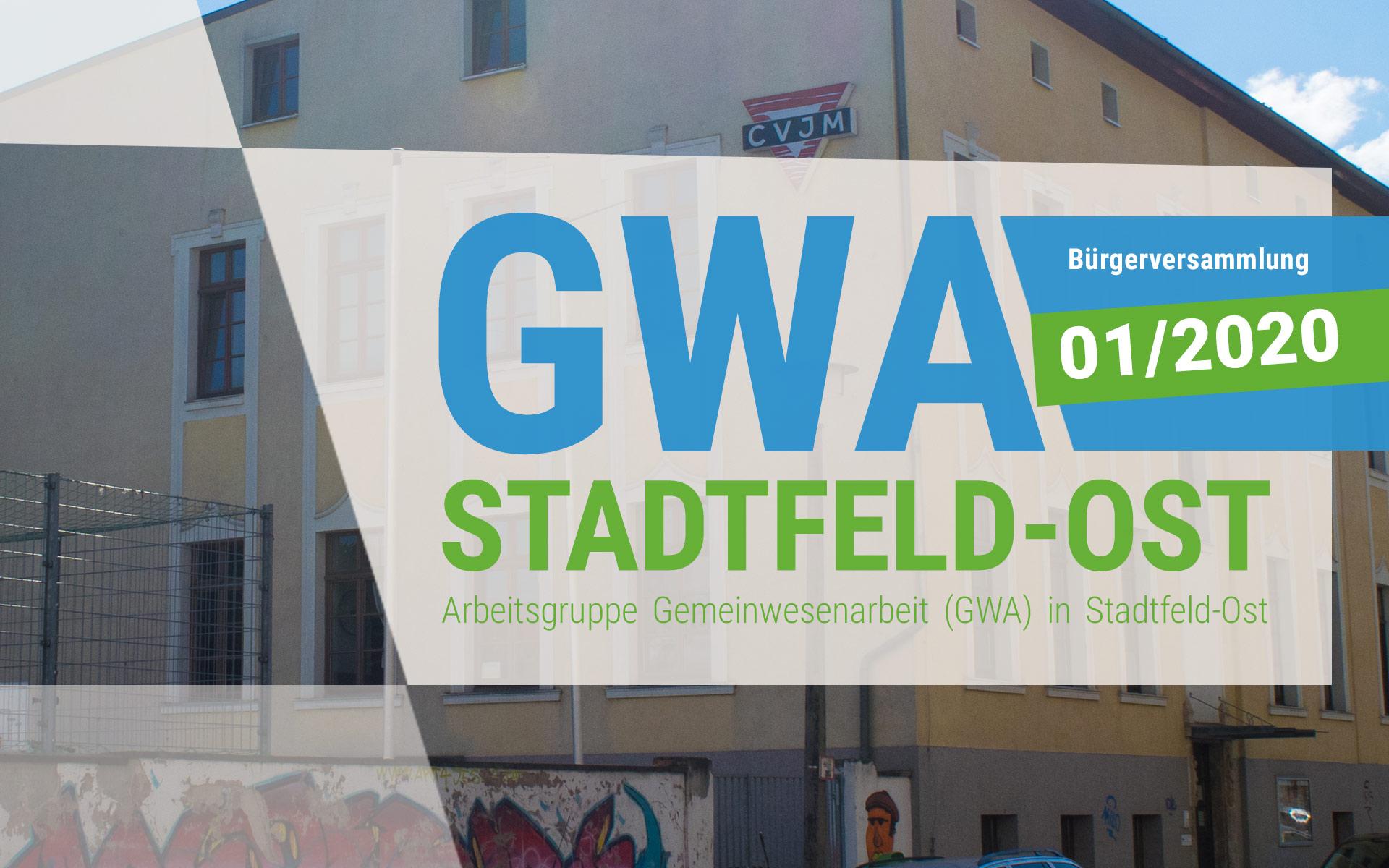 Versammlung der GWA Stadtfeld-Ost 01/2020