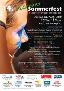 Samstag 28. Aug. 2010, 10.00 bis 19.00 Uhr, am Schellheimerplatz