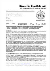 """Protest gegen die Pläne für """"Fachmarktzentrum"""""""