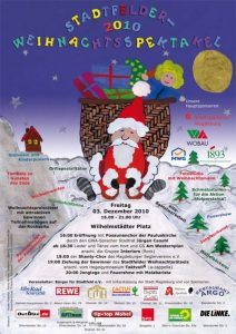 7. Stadtfelder Weihnachtsspektakel 2010 - Buntes Treiben auf dem Wilhelmstädter Platz